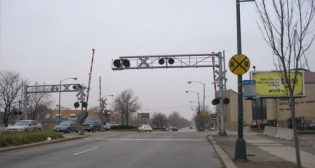Illinois Rail Crossing