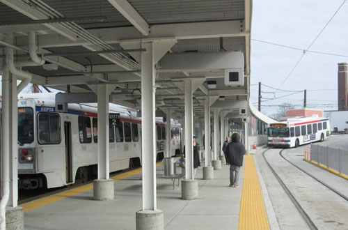 Septa Celebrates New West Terminal At 69th Transportation Center Railway Track And Structures