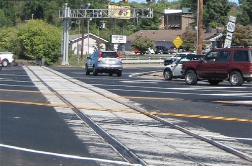 Grade crossings in North Carolina, Ohio see work - Railway