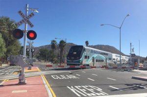 Metrolink California rail projects funding