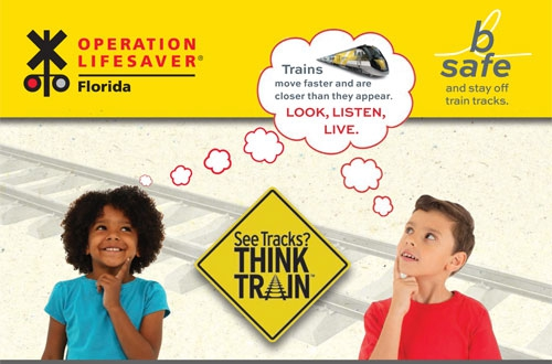 Stay off the tracks: simple message behind joint educational