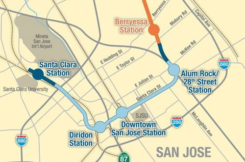 SCVTA Board set to approve second phase of BART extension - RT&S