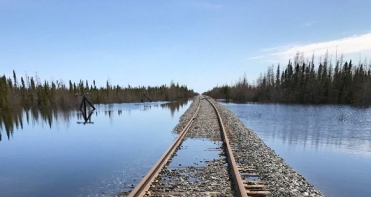 "Hudson Bay Railway says sale has ""fallen apart"" - Railway Track and"