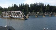 rail bridge in coos Bay