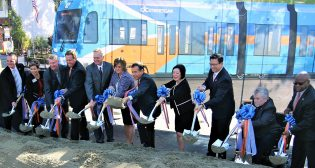 Orange County Transportation Authority streetcar groundbreaking