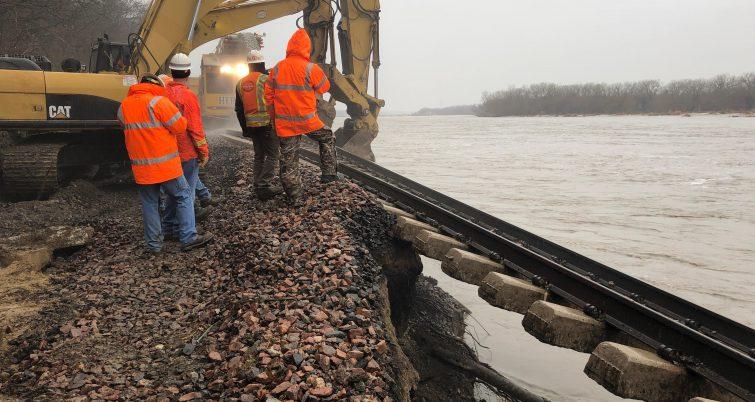 Midwest floods have maintenance crews scrambling to restore