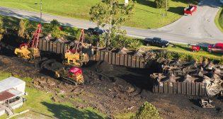 Corman derailment services