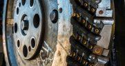 Rail milling cutting head
