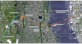 Hudson River tunnel project