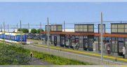 SouthWest LRT rendering
