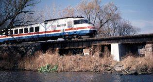 New York train speed
