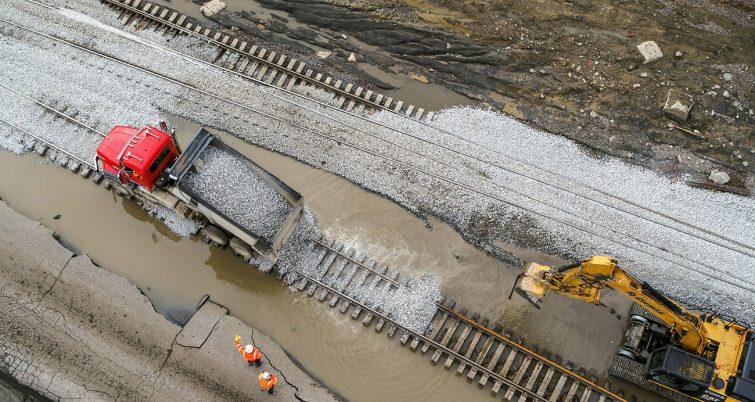 railroad flooding